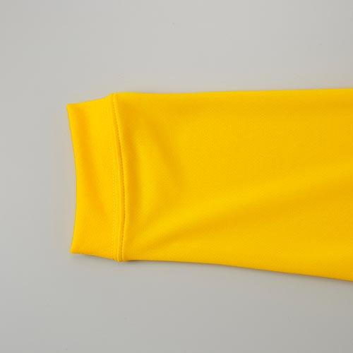 ドライシルキータッチロングスリーブTシャツの袖リブ