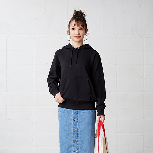 モデル身長163㎝/Sサイズ/ブラック着用