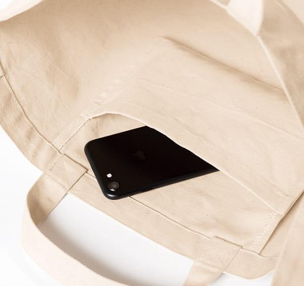 便利な内ポケット収納