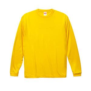 ドライシルキータッチロングスリーブTシャツ