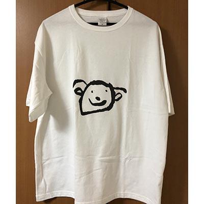 甥っ子の書いた似顔絵がかなり可愛くてつくってみました☆ 届いてみたら綺麗にTシャツプリント出来ていて感激しています(^^) また利用したいです!【20代・男性・やー さん】