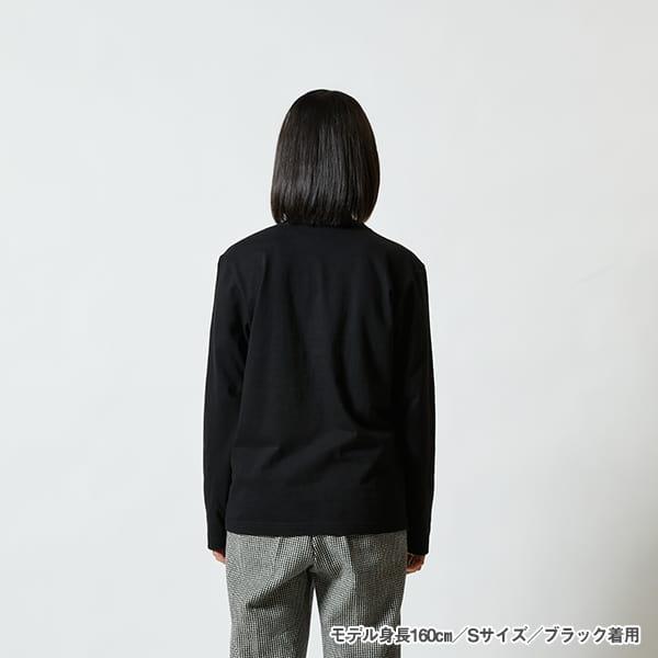 モデル身長160㎝/Sサイズ/ブラック着用/背面シルエット