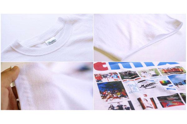 お手頃Tシャツへのプリント例