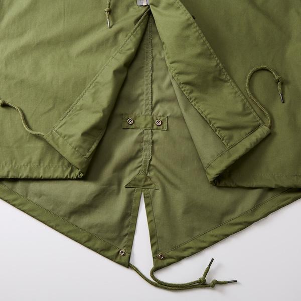 T/Cモッズコート(一重)の裾