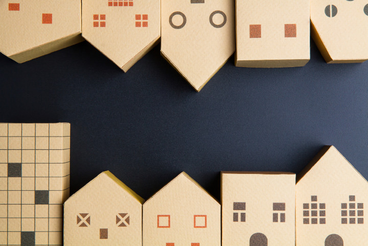 さまざまな住居のイメージ