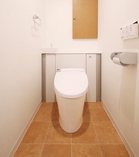 リフォーム後のトイレ空間の様子