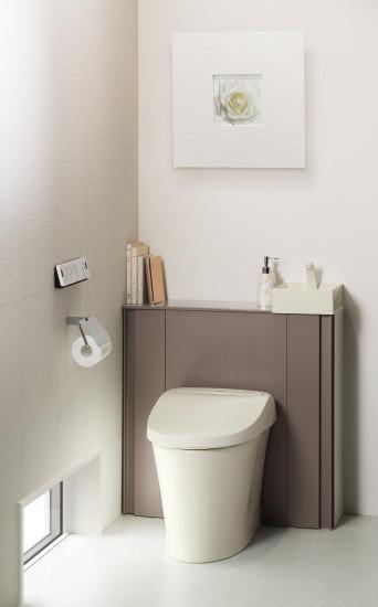 収納一体型トイレ
