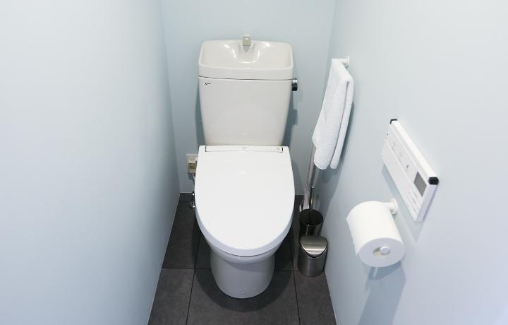 小山さん宅のトイレ