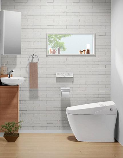 壁には汚れ防止タイプや抗菌性のあるクロスを選ぶ