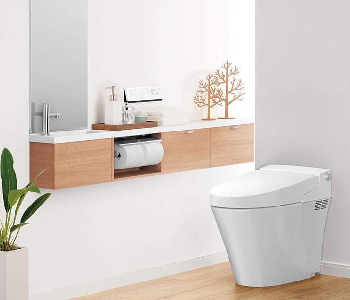 掃除が楽になり部屋が広く使える「タンクレストイレ」