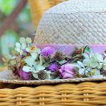100均のアイテムで見違える!世界に一つの麦わら帽子の作り方のサムネイル画像
