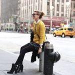 おしゃれレディ♡黄色のセーターを使ったお洒落な冬の着こなし術のサムネイル画像