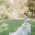 素敵な水色のカラードレスで、可憐で可愛い花嫁さんになろうのサムネイル画像