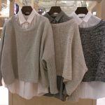 セーター×シャツは、こんなにもこなれ感UPのコーデ術だった!のサムネイル画像