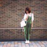 マタニティファッションは、オーバーオールでおしゃれにキメる!のサムネイル画像