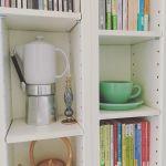 【一人暮らしワンルームでも!】薄型の本棚ですっきり&おしゃれ部屋に♪のサムネイル画像