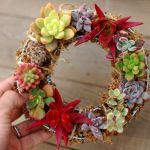 クリスマスだけじゃない♡オールシーズン飾れるリースの作り方のサムネイル画像