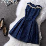 女性らしいパターンスタイルの韓国ファッションbyワンピースのサムネイル画像