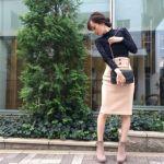 注目アイテム【ひざ丈タイトスカート】大人の着まわし術を大公開!のサムネイル画像