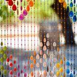 どこにあってもすっごく可愛い!ビーズカーテンのお洒落な使い方のサムネイル画像
