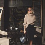 オシャレ女子必見!春まで待てない、柔らか素材の春色ニットコーデ♡のサムネイル画像