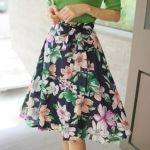 スカートは形だけじゃない!ウエスト部分も重要なポイント!のサムネイル画像