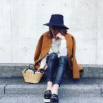 黒のスキニーでスタイルアップ♡大人可愛いレディースコーデのサムネイル画像