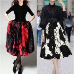 【センスが光るコーデ♡】柄物スカートで最高の自分に変身!のサムネイル画像