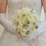 【ウェディングドレス】大きいサイズの女性の素敵な結婚式!のサムネイル画像