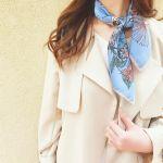 春だから…マフラーからチェンジ!《スカーフ》を上手に使った春コーデにTRYしよ♡のサムネイル画像