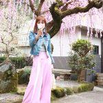 男子のホンネはこんなコーデ♡防寒&春っぽを両方叶える《お花見の桜色モテコーデ》のサムネイル画像