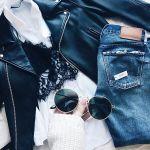 私たち、やっぱり黒が好き♡だけど春っぽく着たい!《大人女子のオフDAY黒コーデ》のサムネイル画像