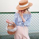 ドライブにBBQ…晴れた日のおでかけは《カンカン帽》でMAX可愛く♡のサムネイル画像