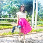 暑い夏も軽やかに♡コーデの主役は《ロングスカート》で決まり!のサムネイル画像