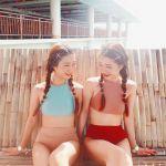 SHOPLISTで買えちゃう♡オシャレなプチプラ《双子水着》をチェック!のサムネイル画像