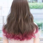 おしゃれ女子が注目している《裾カラー》でパッと華やかヘアーに♡のサムネイル画像