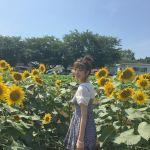 ひまわり畑にはこの服!可愛い服と旬なお花で「いいね」をいただき♡のサムネイル画像