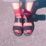 2大靴下ブランドで叶う!《シースルーソックス》はこう合わせる♡のサムネイル画像