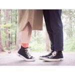 秋のオシャレは足元から♡可愛い女の子のための《スニーカーと靴下》のサムネイル画像