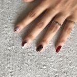 この秋、セルフネイルなら《くすみ色》の単色ネイルがおすすめ♡のサムネイル画像