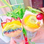 季節の果物がつまったブーケ♡《花束》みたいなクレープが食べたい!のサムネイル画像