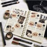 インスタで見つけた!「#手帳の中身」はアイデアで溢れている♡のサムネイル画像