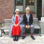 インスタグラムで話題のご夫婦♡【bonpon】カップルコーデ集!のサムネイル画像