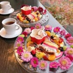 お花に囲まれて♡【桜moon】で至福のひと時を過ごしてみない?のサムネイル画像