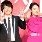 出産が近くて仕事に集中できない?松山ケンイチと小雪のラブラブぶりのサムネイル画像