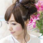 髪をヘアアレンジして「リボン」に!可愛く変身しちゃおう!!のサムネイル画像