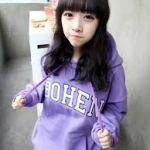 韓国発祥オルチャンファッションの可愛すぎるパーカーコーデ画像集のサムネイル画像