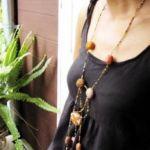 おしゃれ!かわいい!ネックレスの作り方を【動画】で紹介★のサムネイル画像