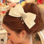 【女子必見】リボンの髪飾りでちょぴり大人なヘアアレンジ特集!のサムネイル画像
