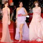 韓国人女優たちのレッドカーペット激戦!話題を集めたドレス特集のサムネイル画像